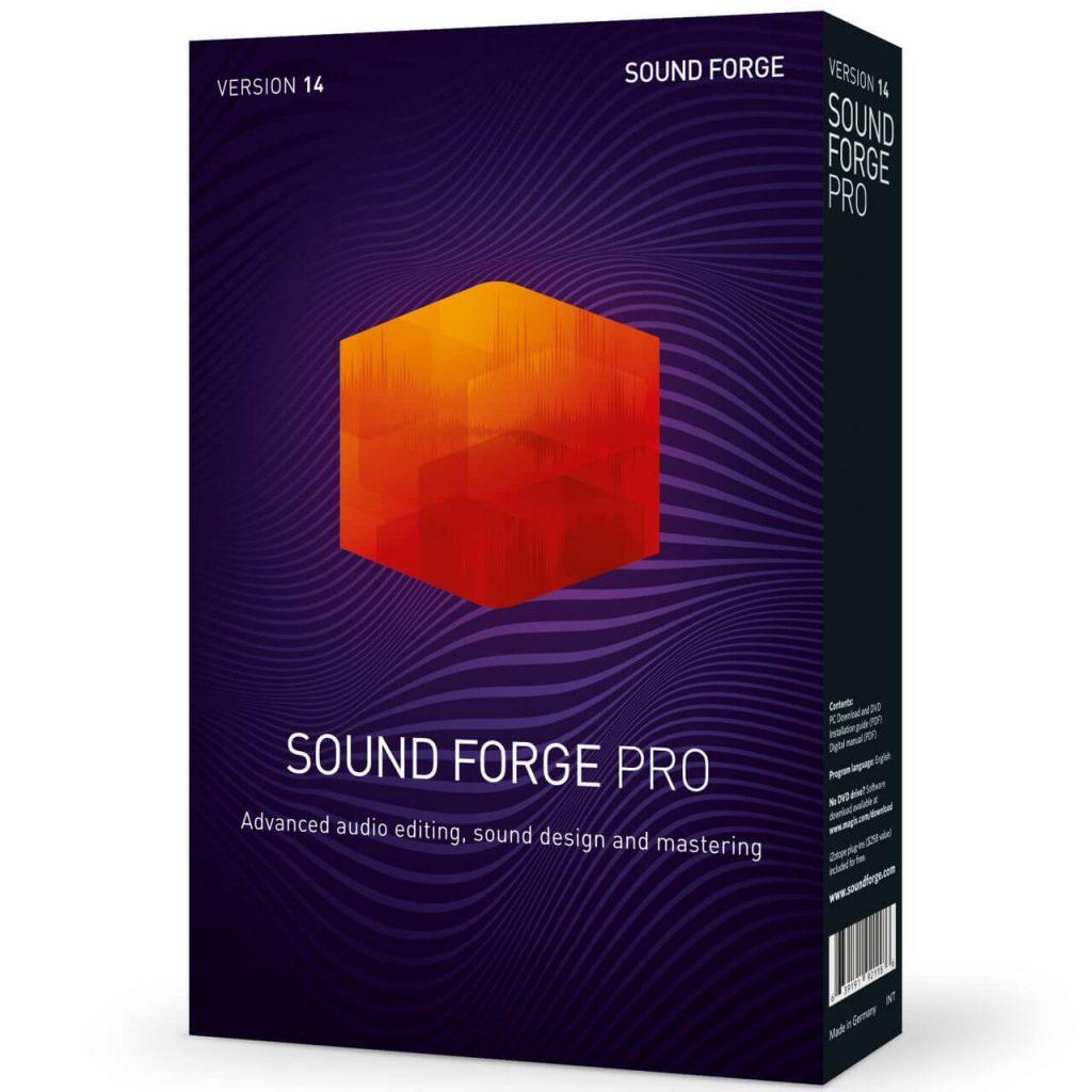 Magix Sound Forge Pro-crack