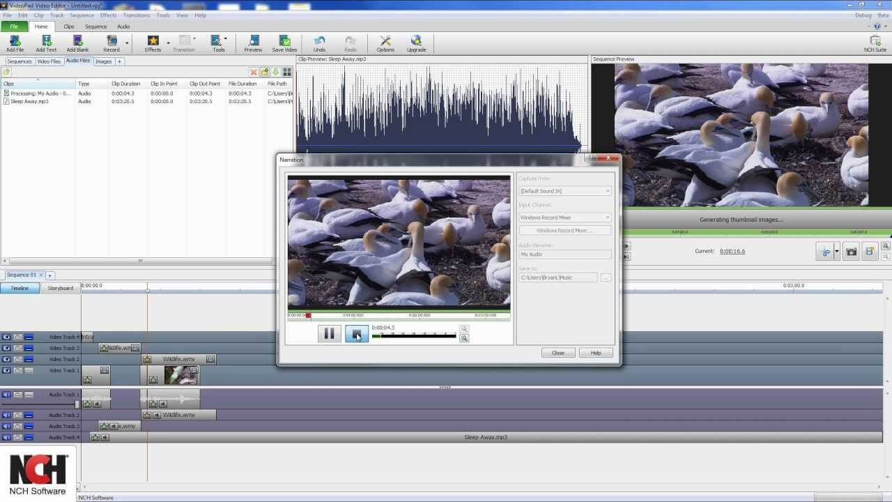 NCH VideoPad Video Editor Pro-key