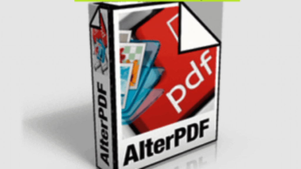 AlterPDF Pro-licensed