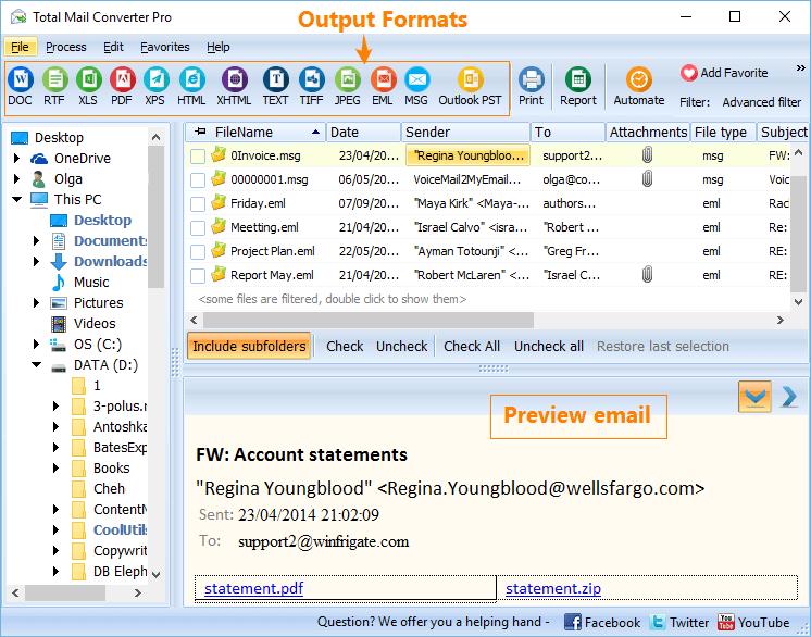 Coolutils Total Mail Converter licensed