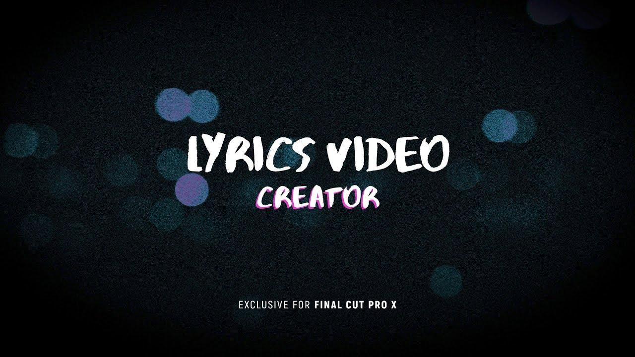 Lyric Video Creator Professional-crack
