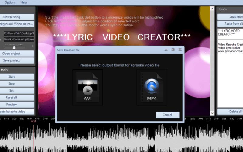 Lyric Video Creator Professional-licensed