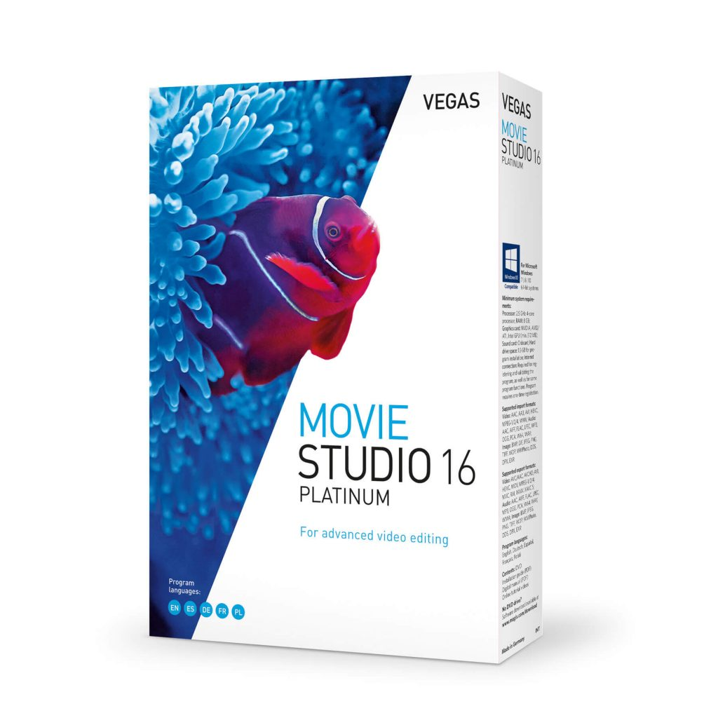 MAGIX VEGAS Movie Studio Crack