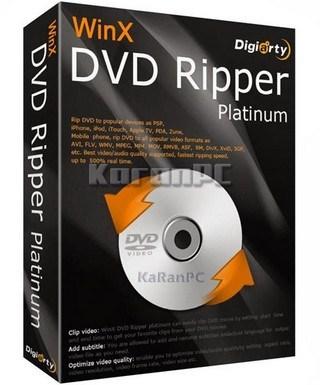 WinX-DVD Ripper platinum-crack